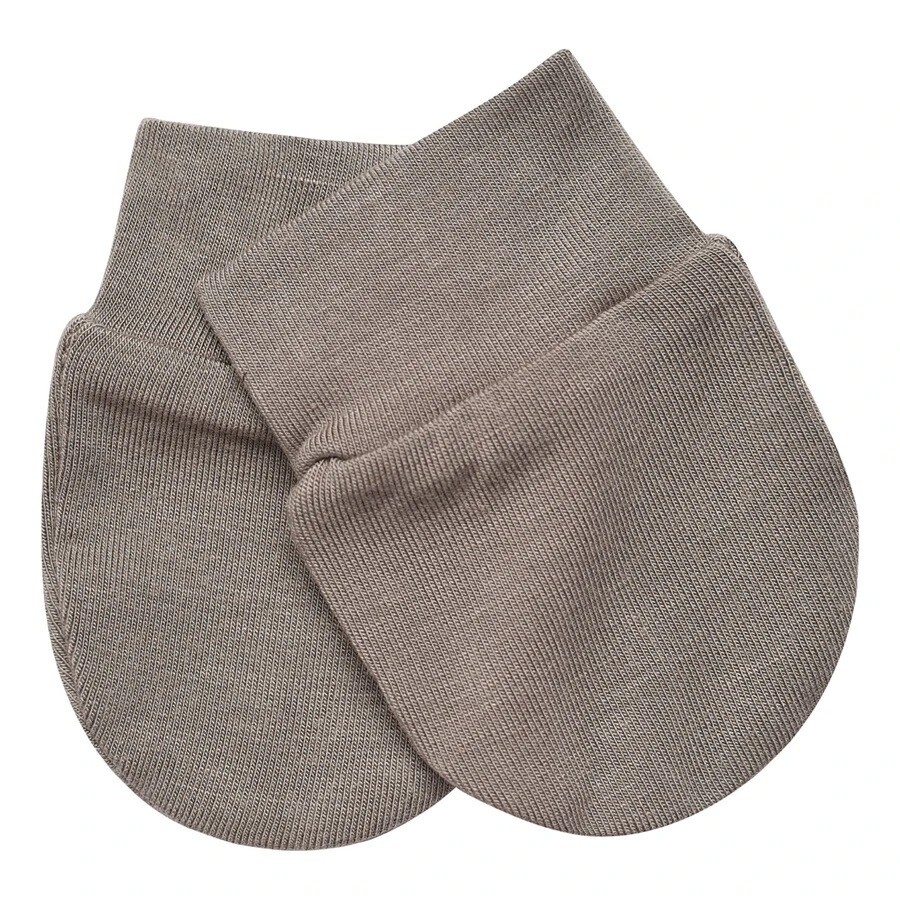 Kyte Infant Scratch Mittens in CLAY