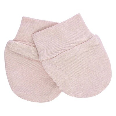 Kyte Infant Scratch Mittens in BLUSH