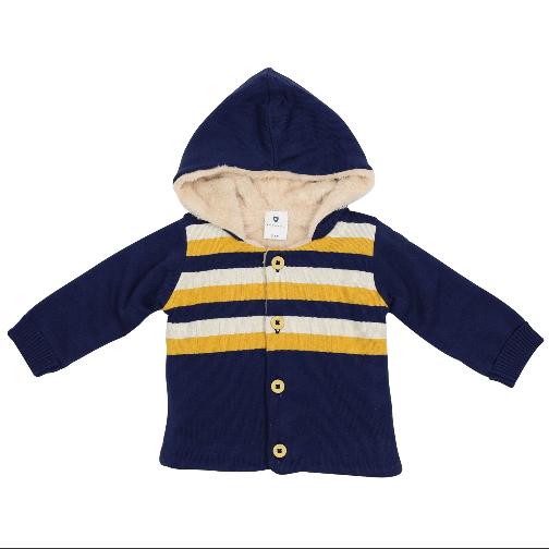 Korango Polar Bear Lined Knit Jacket  A1501N