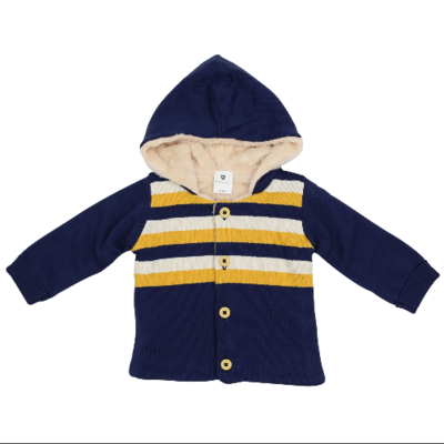 Korango Polar Bear Lined Knit Jacket  A1501N