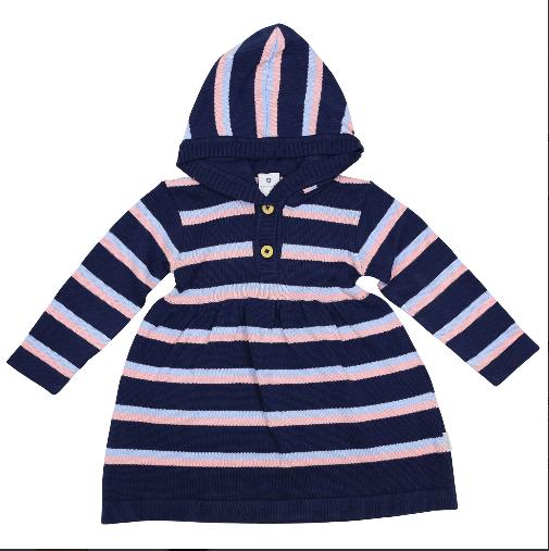 Korango Hearts Knit Dress A1525N