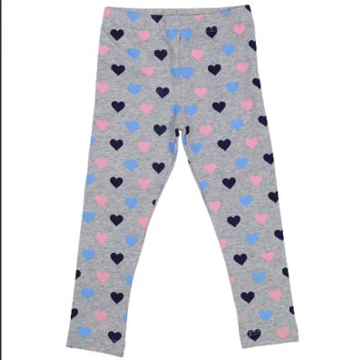 Korango Hearts Print Leggings A1526G
