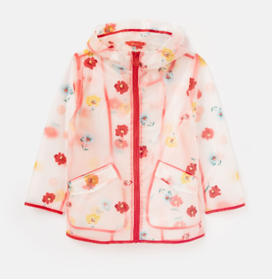 Joules Raindance Clear Posey Raincoat 212983