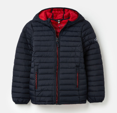 Joules Cairn Packaway Padded Coat 212909