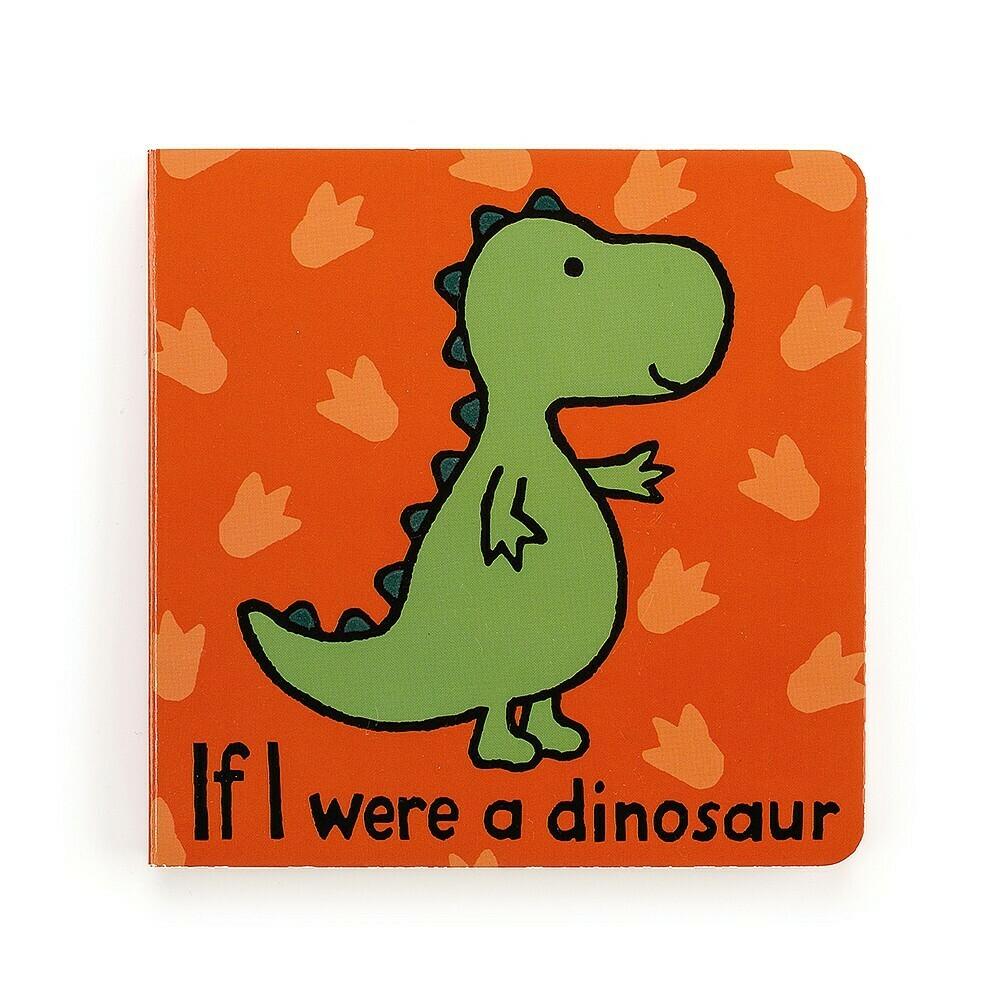 If I Were A Dinosaur Book (Jellycat