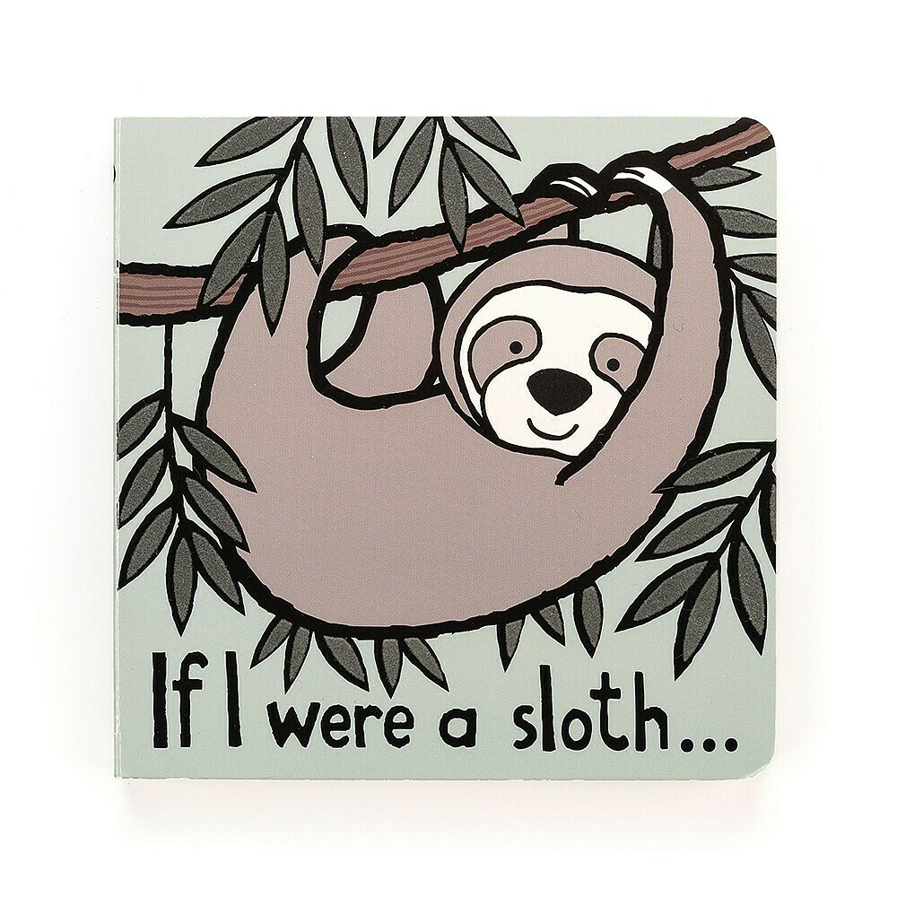 If I Were A Sloth Book (Jellycat