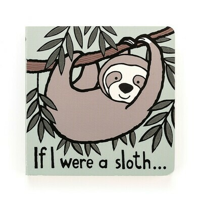 Jellycat If I Were A Sloth Book