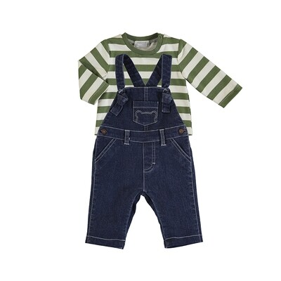 Mayoral Overall & T-Shirt Set 2648
