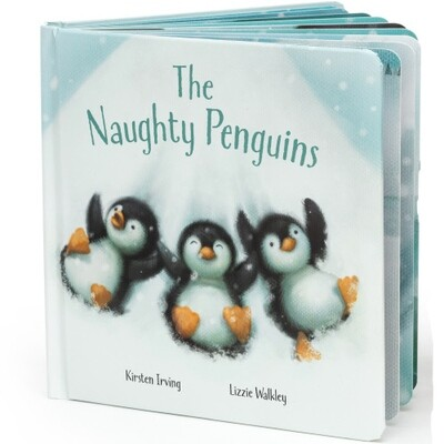 The Naughty Pequins Book (Jellycat