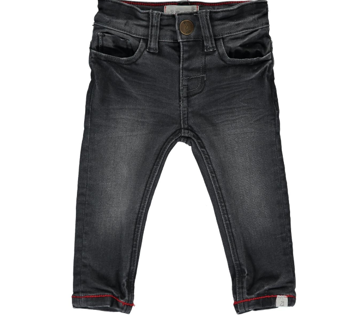 Me & Henry Charcoal Slim Fit Denim Jeans HB342b