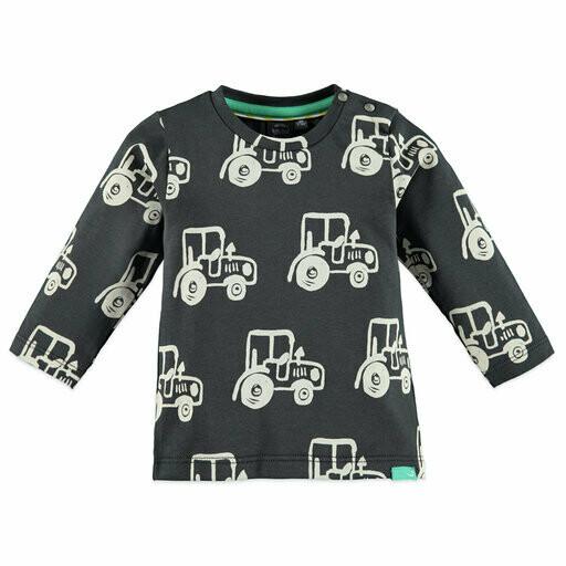 Babyface LS T-Shirt Dk Grey 20327629