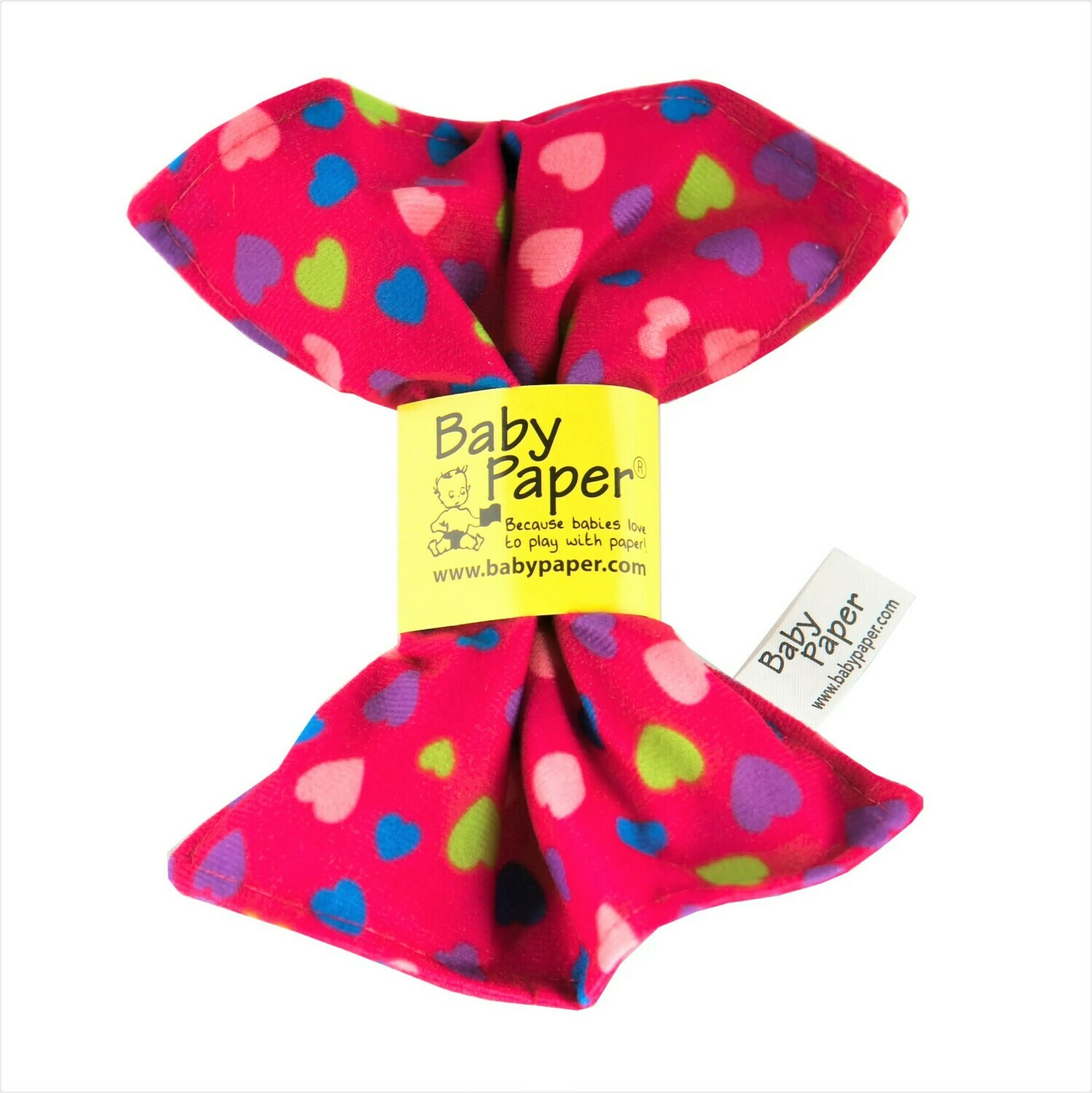 Pink Hearts Baby Paper
