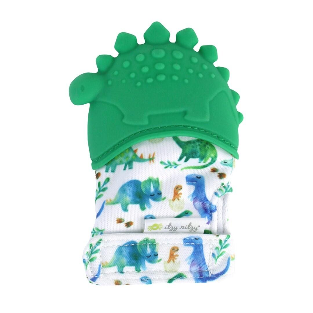 Itzy Ritzy Silicone Teething Mitt (Dinosaur