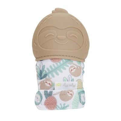 Itzy Ritzy Silicone Teething Mitt (Sloth