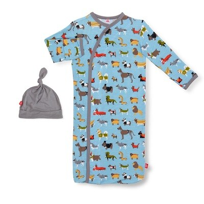 Magnetic Me In-Dog-nito Modal Gown & Hat 1411