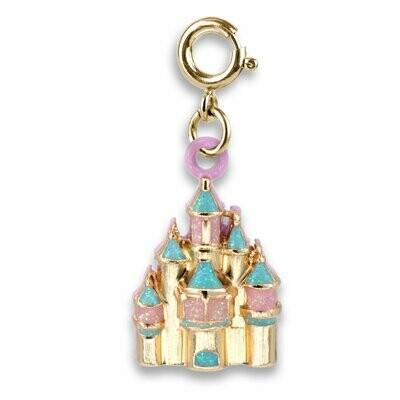 Charm It Gold Castle Charm CICC1154