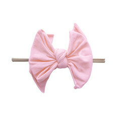 Baby Bling Fab-BOW-lous Pink (skinny blush band