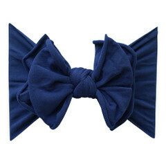 Baby Bling Fab-BOW-lous Navy