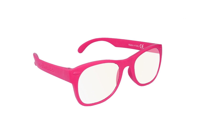 Roshambo Junior PINK Screen Time Blue Blocker AVN Glasses