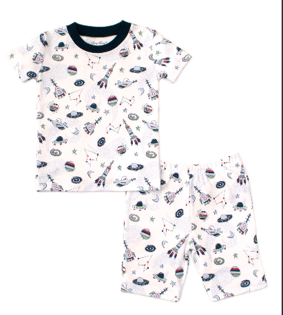Kissy Kissy Out Of Space Short PJ set