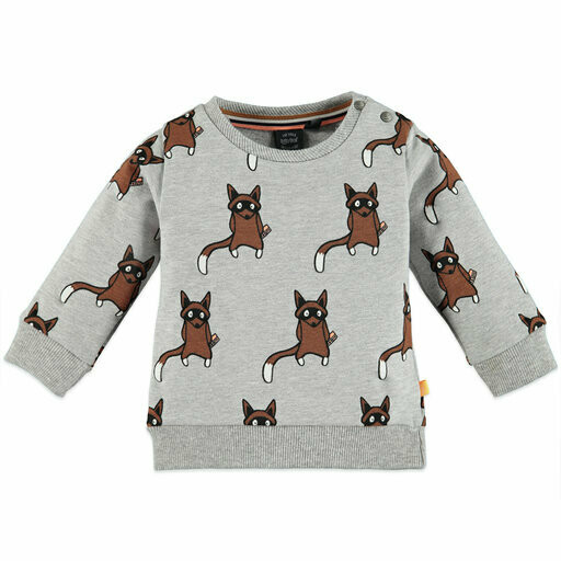 Babyface Sweat Shirt (Grey Melee 7403