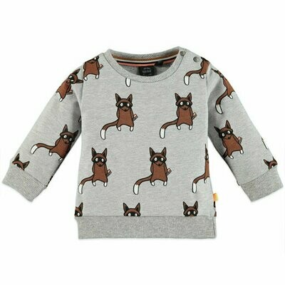 Babyface Sweat Shirt (Grey Melee 7403