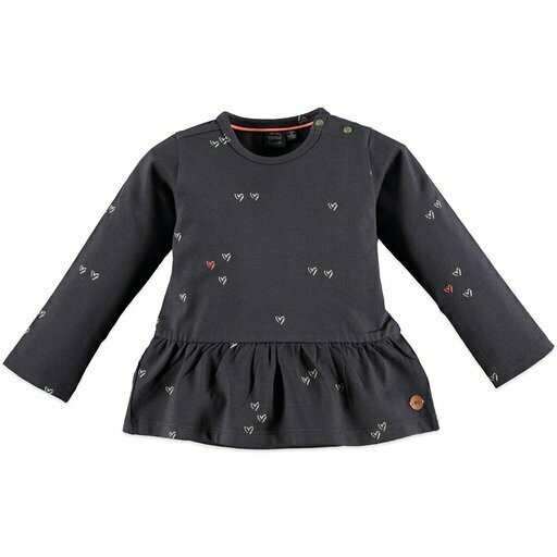 Babyface Girls T-Shirt L/S (Grey Dove 8660