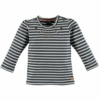 Babyface Girls T-Shirt L/S (Grey Dove 8652