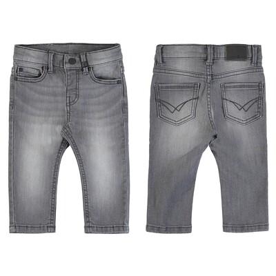 Mayoral Basic Slim Fit Jeans (Gray 510