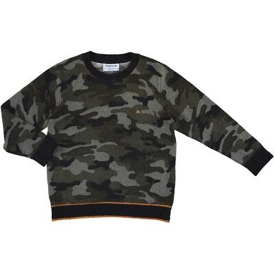 Mayoral Navy Camuflage Sweater 4327