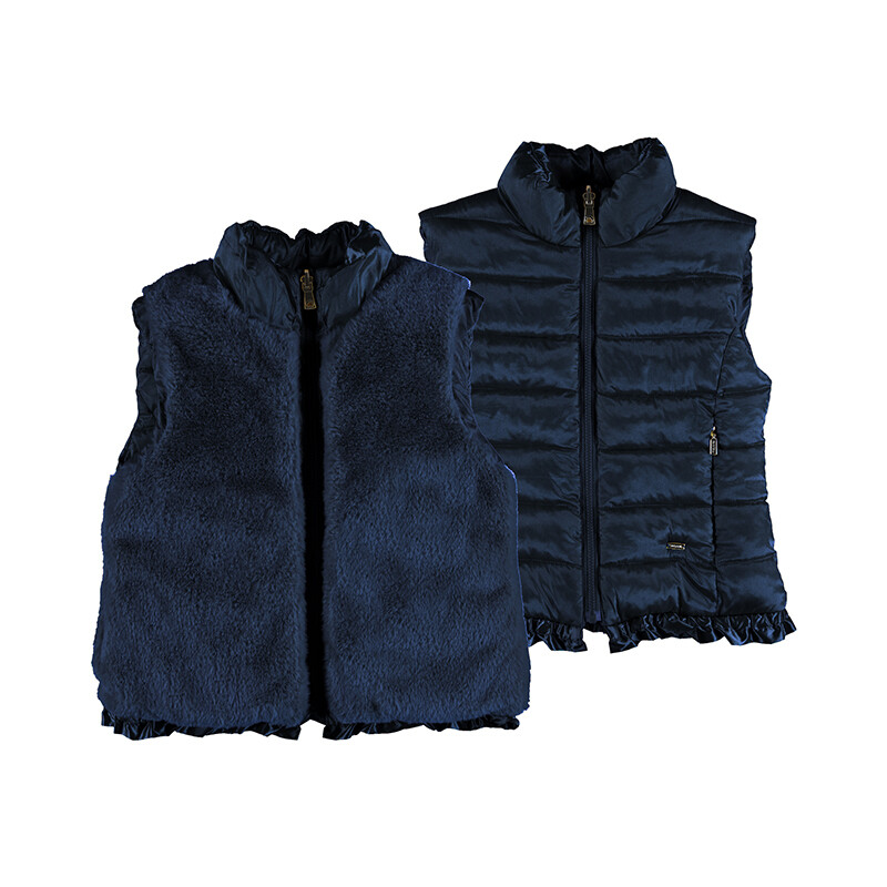 Mayoral Navy Reversible Vest 4352