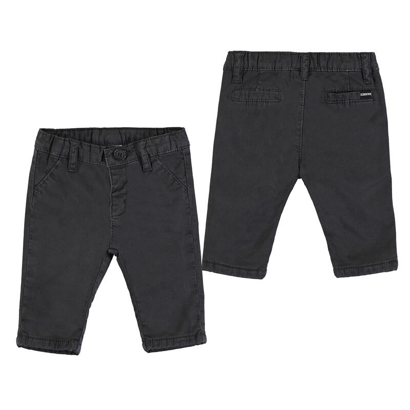 Mayoral Black Twill Chino Pants 2567