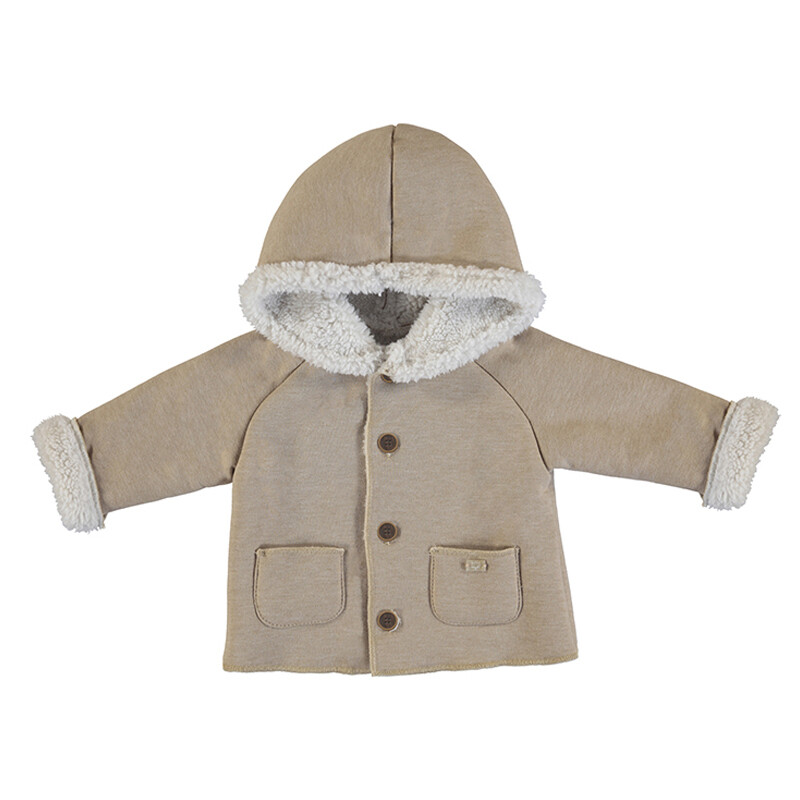 Mayoral Hazelnut Coat 2470
