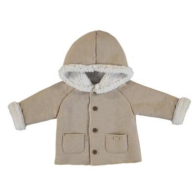 Mayoral Hazelnut Coat 2470