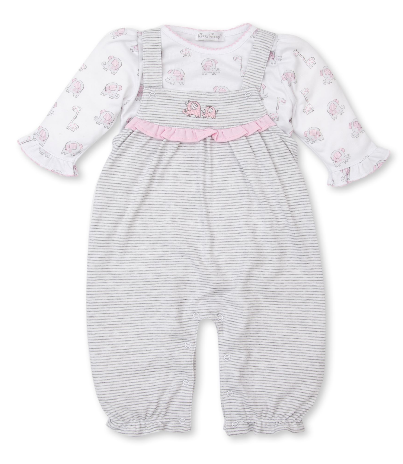 Kissy Kissy Overall Set Sappy Sidekicks 4953I