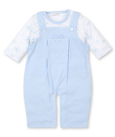 Kissy Kissy Overall Set Bearly Believeable 5231N