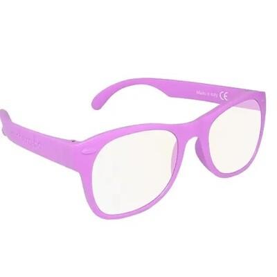 Roshambo Adult LAVENDAR S/M Glasses Screen Blue Blocker AVN