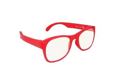 Roshambo Adult RED S/M Glasses Screen Blue Blocker AVN