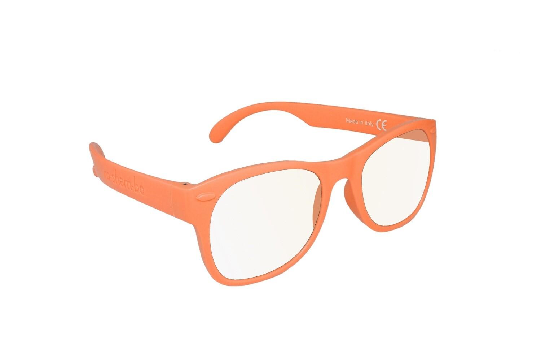 Roshambo Junior ORANGE Glasses Screen Time Blue Blocker AVN