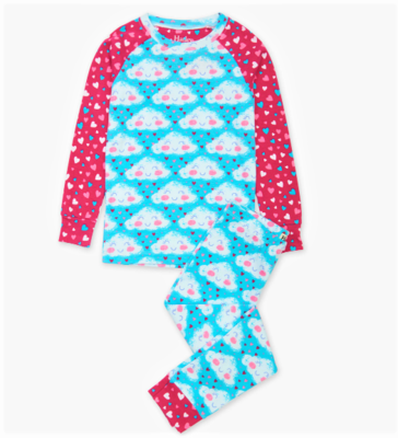 Hatley Cheerful Clouds Organic PJ Set CK1269