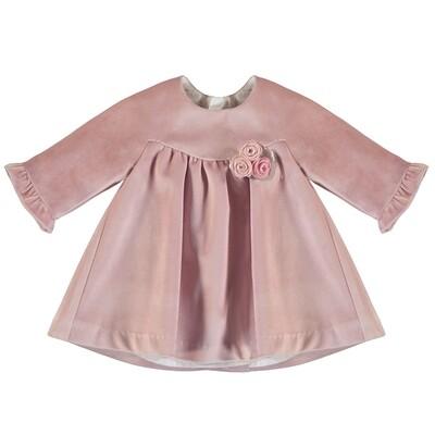 Mayoral Candy Velvet Dress 2862