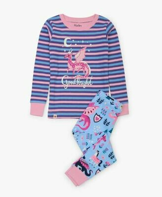 Hatley Enchanted Forest Organic PJ Set K204