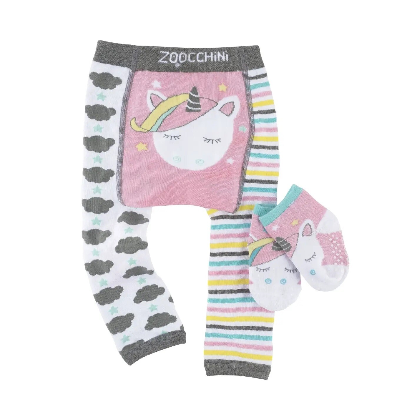 ZooCChini Allie The Allicorn Legging & Sock Set