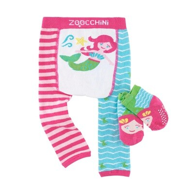 ZooCChini Mermaid Legging & Sock Set
