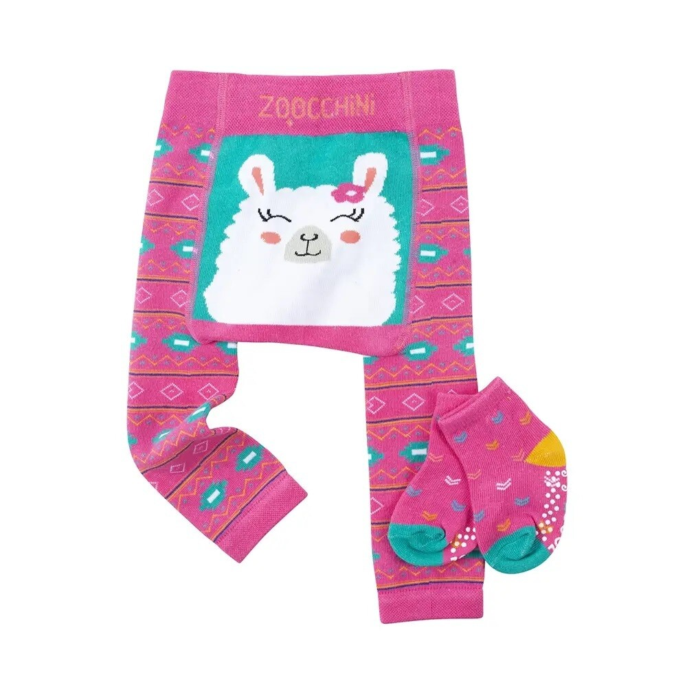 ZooCChini Laney the Llama Legging & Sock Set