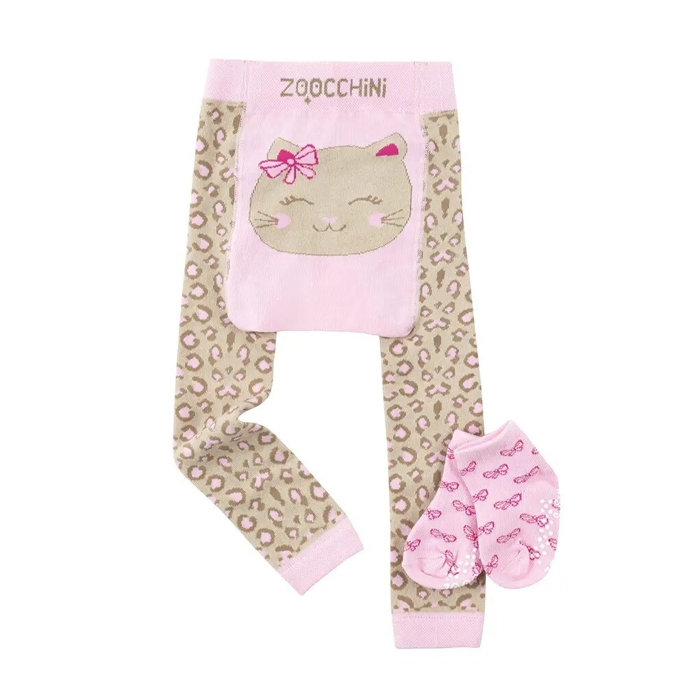 ZooCChini Kallie the Kitten Legging & Sock Set