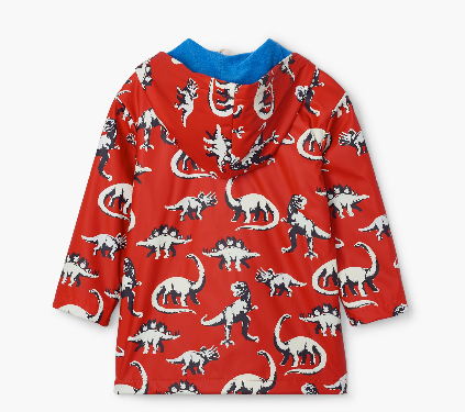 Hatley Painted Dinos Color Changing Rain Coat