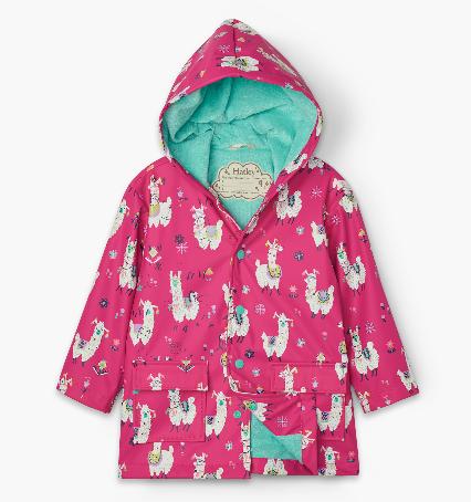 Hatley Pretty Alpacas Rain Coat