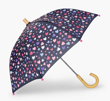 Hatley Confetti Heart Umbrella