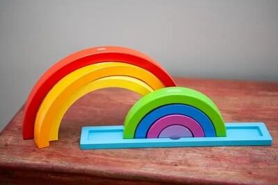 Jack Rabbit Magical Rainbow Puzzle